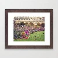 little birds Framed Art Print