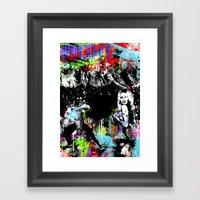 Fight Bitch Framed Art Print