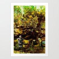 Antakya^da F. Millet'in … Art Print