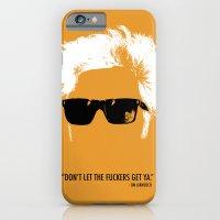 iPhone & iPod Case featuring Jim Jarmusch Hair by alex lodermeier