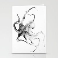 octopus Stationery Cards featuring Octopus by Alexis Marcou
