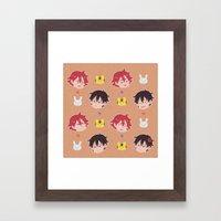imanaru Framed Art Print