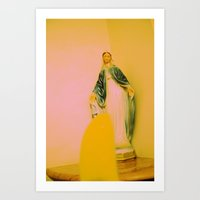 Christ Was Born In China Art Print