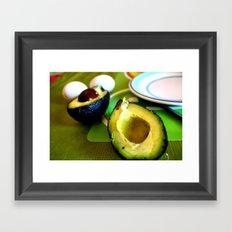Avocados in Chile Framed Art Print