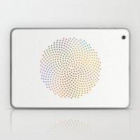 Spiral Dots Laptop & iPad Skin