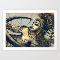 Zodiac Sign: Sagittarius Art Print