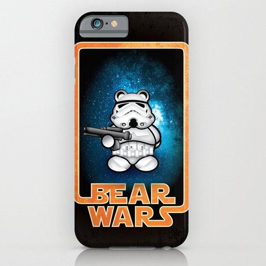 Bear Wars - Bear Trooper iPhone & iPod Case