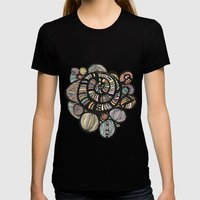 Dreamer Womens Fitted Tee Black SMALL