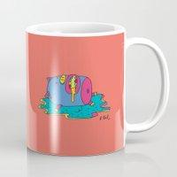 Lazy Pig Mug