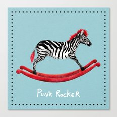 Punk Rocker Canvas Print