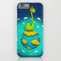 iPhone & iPod Case featuring Dynoplanet by MaComiX