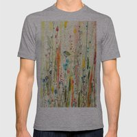 Liberté Mens Fitted Tee Athletic Grey SMALL