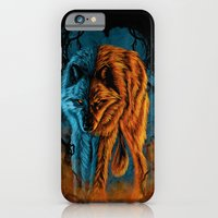 iPhone & iPod Case featuring Fire And Ice by Fathi