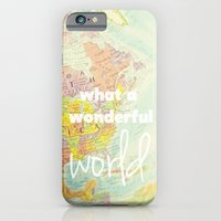 iPhone & iPod Case featuring What a Wonderful World by Libertad Leal Photography
