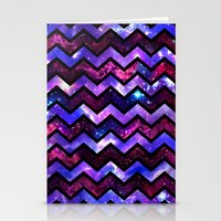 Galactic Chevron Stationery Cards