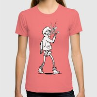 Dead, before it was cool Womens Fitted Tee Pomegranate SMALL