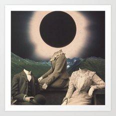 'Strange Days' Art Print