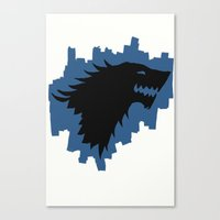 Winter Is Coming - Game … Canvas Print