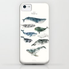 Whales iPhone 5c Slim Case