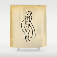 - Marilyn_14 - Shower Curtain