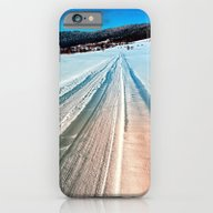Winter Road Into The Mou… iPhone 6 Slim Case