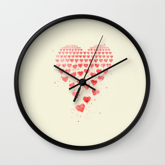 I Fall to Pieces... Wall Clock