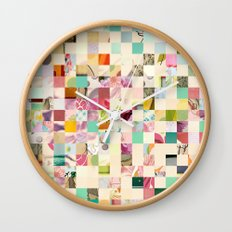 Quilted  Wall Clock