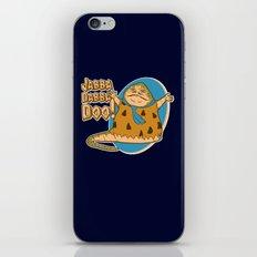 Jabba dabba doo!! iPhone & iPod Skin