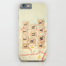 let's run away iPhone 6s Slim Case