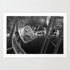 Roller Saigon Art Print