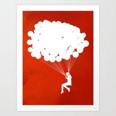 Suspension Art Print
