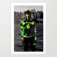 Boy Urban Art Print