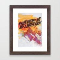HEAVEN & HELL 2 Framed Art Print