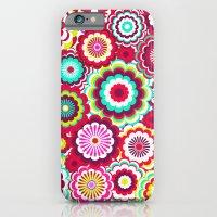 Bright Flower Dash iPhone 6 Slim Case