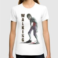 walking dead T-shirts featuring Walking Dead by FulgenSHOW Art