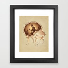 Mind Reader Framed Art Print