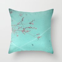 A Kiss in the Sky Throw Pillow