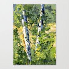 Aspens - Ready to Turn Yellow... Canvas Print