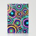 Retro Rings Stationery Cards