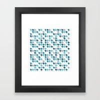 Blue Tooth #2 Framed Art Print