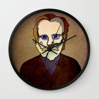 Prophets Of Fiction - Fr… Wall Clock