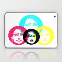 CMYK Punk Laptop & iPad Skin