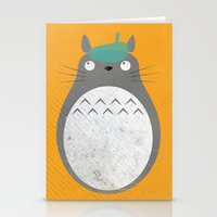 Homenaje a Totoro Stationery Cards