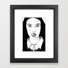 asc 228 - La Pureté (Purity is for madmen to make fools of us all) Framed Art Print