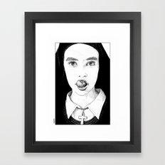 Apollonia Saintclair 228… Framed Art Print