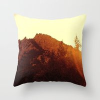 To George Throw Pillow