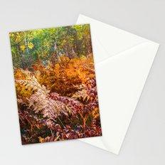 Autumn fern Stationery Cards