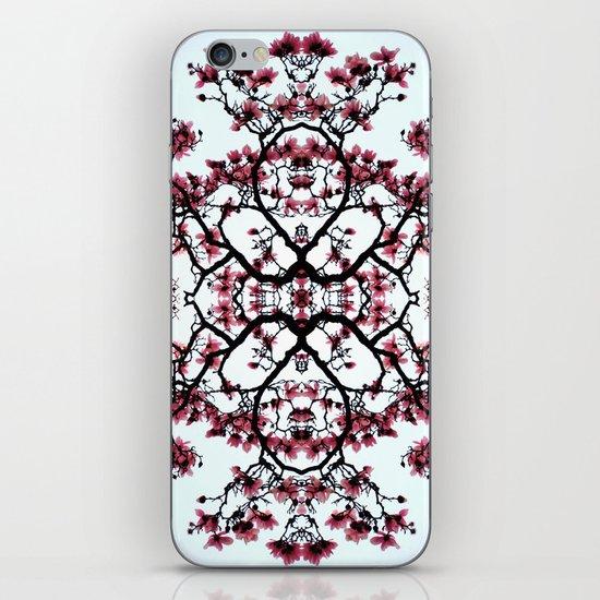 magnolia silhouette iPhone & iPod Skin