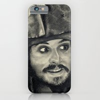 Captain Jack Sparrow ~ Johnny Depp Traditional Portrait Print iPhone 6 Slim Case