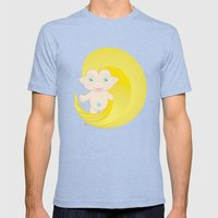 Troll Mens Fitted Tee Tri-Blue SMALL